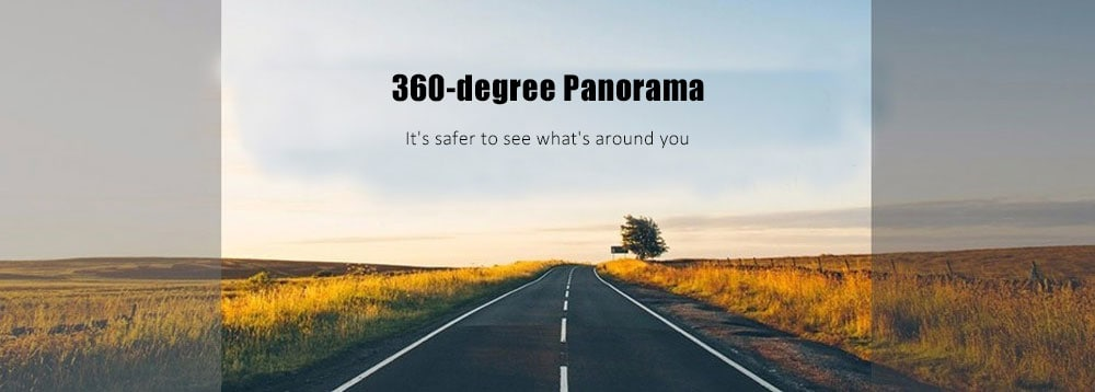 Wifi vezeték nélküli 360 panorámás vezetékes felvevő - ezüst