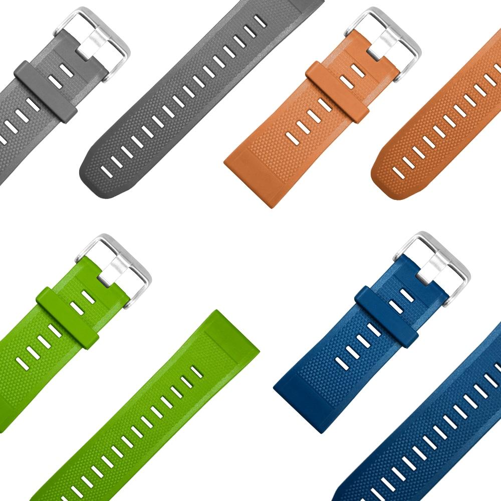 TPU Wrist Watch Band Strap for Zeblaze VIBE 3 Bracelet Replacement- Orange