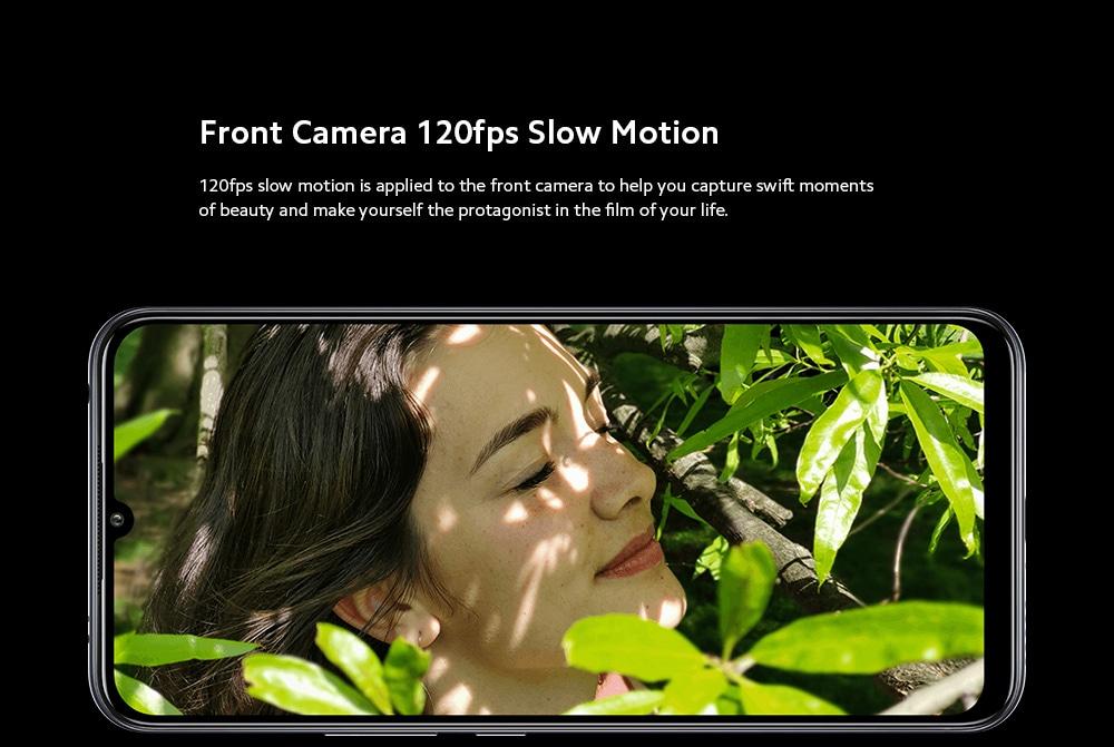 Xiaomi Mi 10 Lite 5G Smartphone Front Camera 120fps Slow Motion