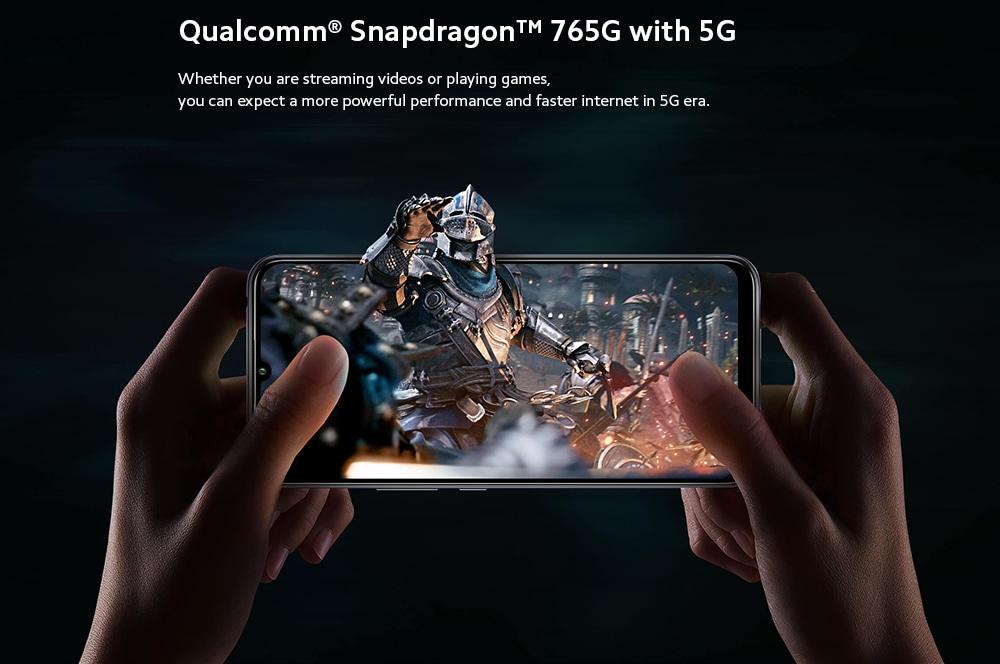 Xiaomi Mi 10 Lite 5G Smartphone Qualcomm® Snapdragon™ 765G with 5G