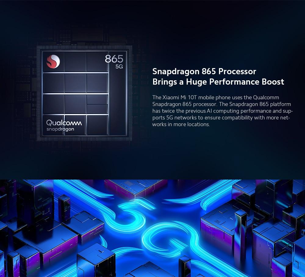 Xiaomi Mi 10T 5G Smartphone CPU