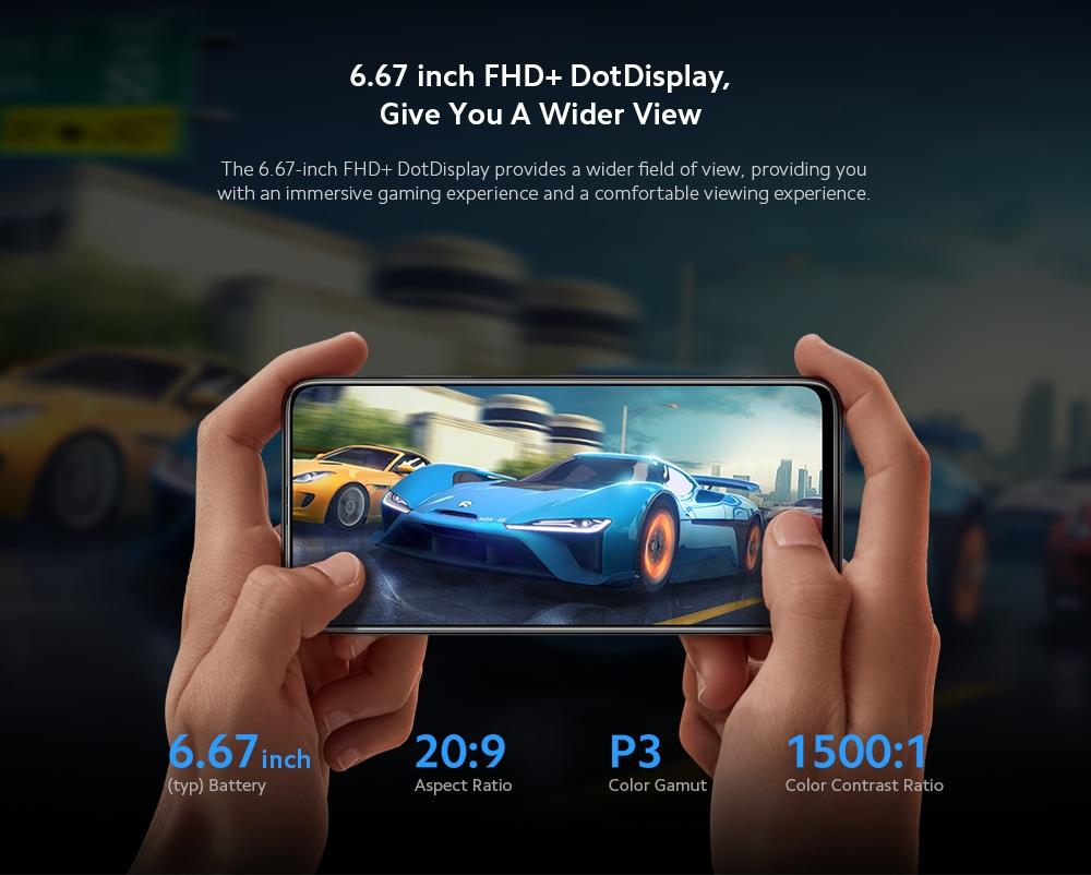 Xiaomi Mi 10T 5G Smartphone Screen