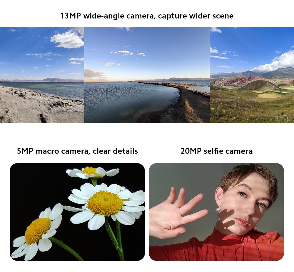 Xiaomi Mi 10T 5G Smartphone 13MP Wide-angle Camera