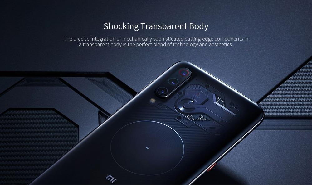 Xiaomi Mi 9 4G Phablet 6.39 inch MIUI 10 Snapdragon 855 Octa Core 2.84GHz + 2.42GHz + 1.80GHz 8GB RAM 256GB ROM 48.0MP + 12.0MP + 16.0MP Rear Camera 3300mAh Battery- Purple
