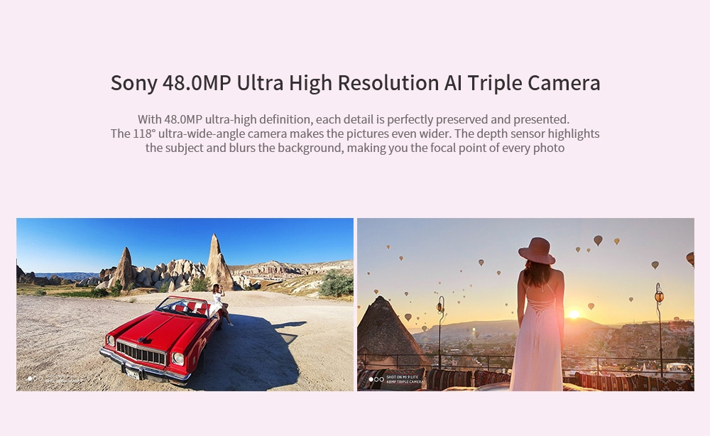 Xiaomi Mi 9 Lite 4G Phablet 6.39 inch MIUI 10 Qualcomm Snapdragon 710 Octa Core 2.2GHz 6GB RAM 128GB ROM 48.0MP + 8.0MP + 2.0MP Rear Camera 4030mAh Battery- White