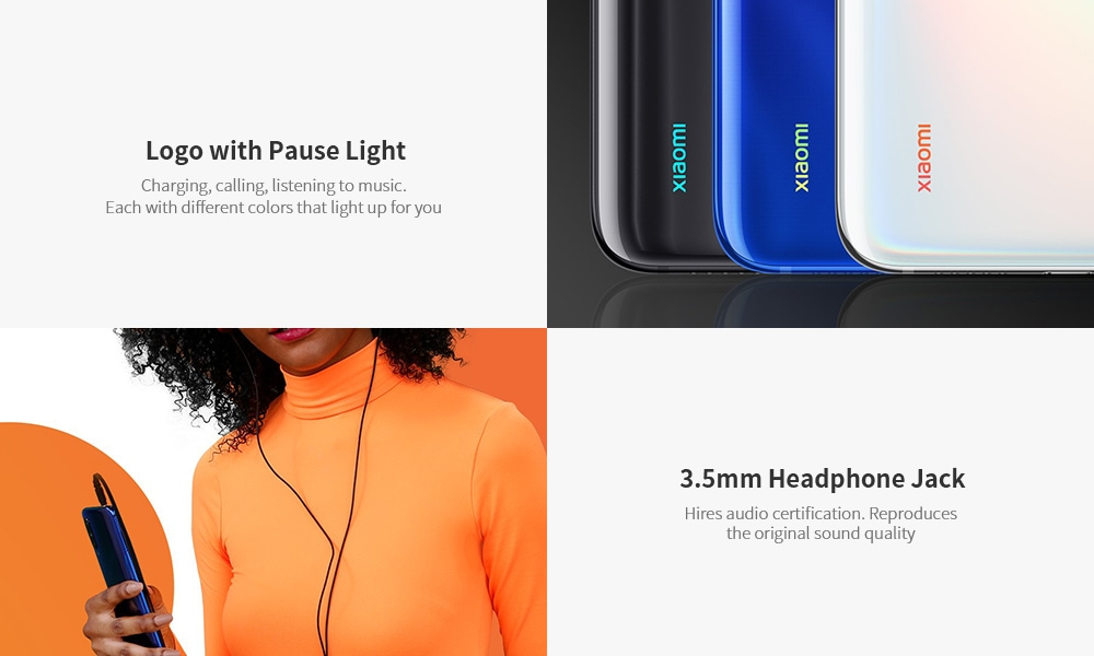 Xiaomi Mi 9 Lite 4G Phablet 6.39 inch MIUI 10 Qualcomm Snapdragon 710 Octa Core 2.2GHz 6GB RAM 64GB ROM 48.0MP + 8.0MP + 2.0MP Rear Camera 4030mAh Battery- Blue