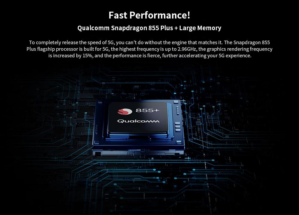 Xiaomi Mi 9 Pro 5G 5G Phablet 8GB RAM 256GB ROM- Black