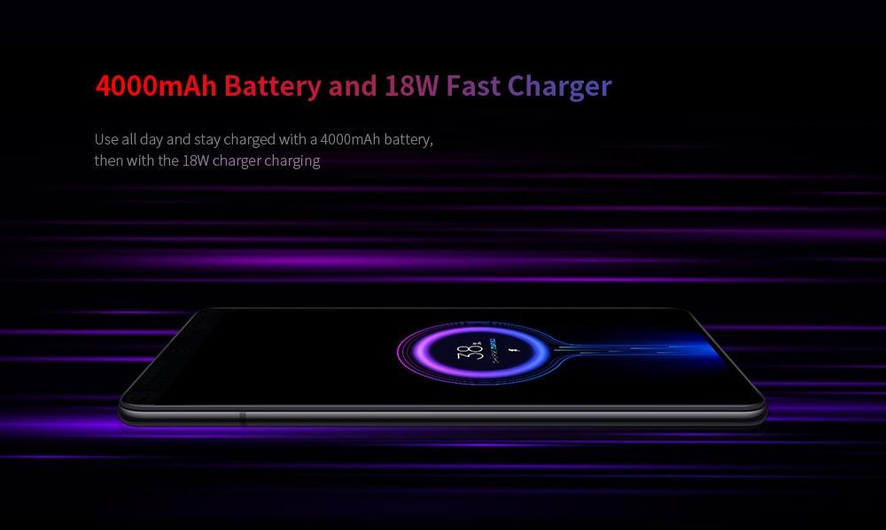 Xiaomi Mi 9T 4G Phablet 6.39 inch Snapdragon 730 Octa Core 6GB RAM 128GB ROM 48.0MP + 13.0MP + 8.0MP Rear Camera 4000mAh Battery- Blue