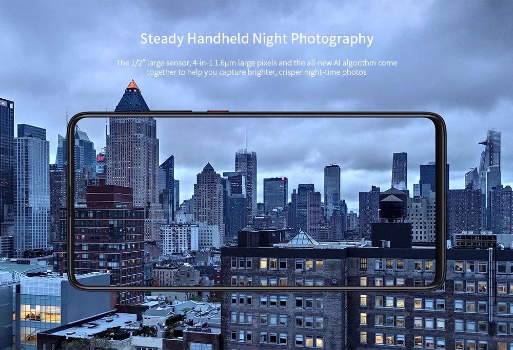 Xiaomi Mi 9T Pro 4G Phablet 6.39 inch MIUI 10 Snapdragon 855 Octa Core 2.84GHz + 2.42GHz + 1.80GHz 6GB RAM 64GB ROM 48.0MP + 13.0MP + 8.0MP Rear Camera 4000mAh Battery- Blue
