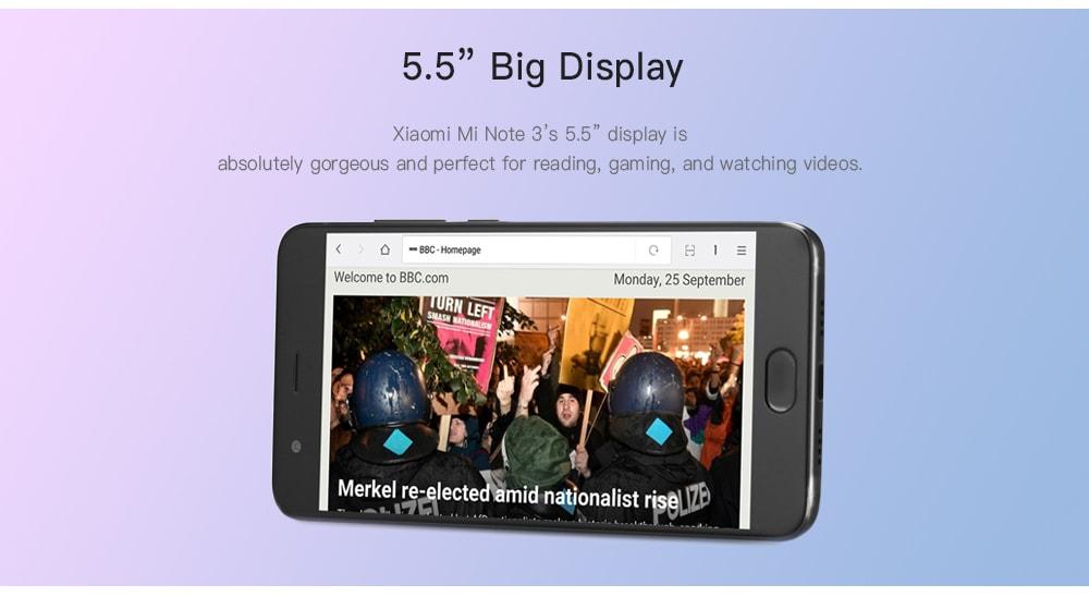 Xiaomi Mi Note 3 4G okostelefon