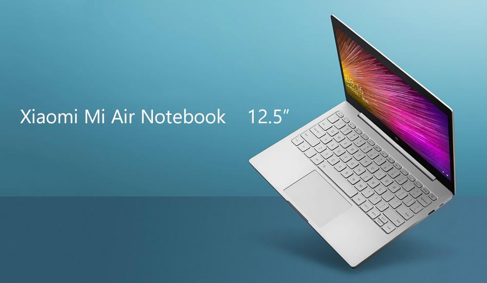 Xiaomi Mi Air laptop 12,5 hüvelykes Windows 10 otthoni Intel Core m3 - 8100Y kétmagos 1.1 GHz 4 GB RAM 128 GB SSD HDMI - Ezüst