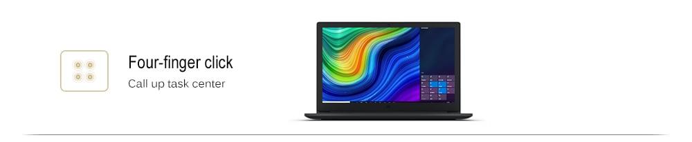 Xiaomi Mi Ruby laptop 15,6 hüvelykes Windows 10 Intel Core i5 - 8250U négymagos 1,6 GHz 8 GB RAM 256 GB SSD 1.0MP kamera - sötét szürke