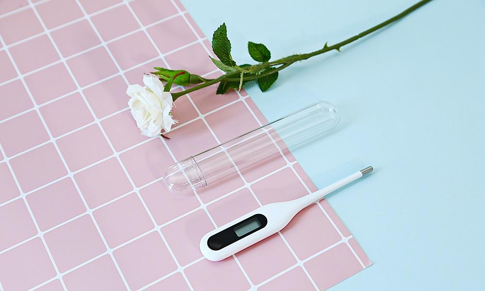Xiaomi MMC - W201 Kétfunkciós hordozható LCD orvosi elektronikus hőmérő - fehér
