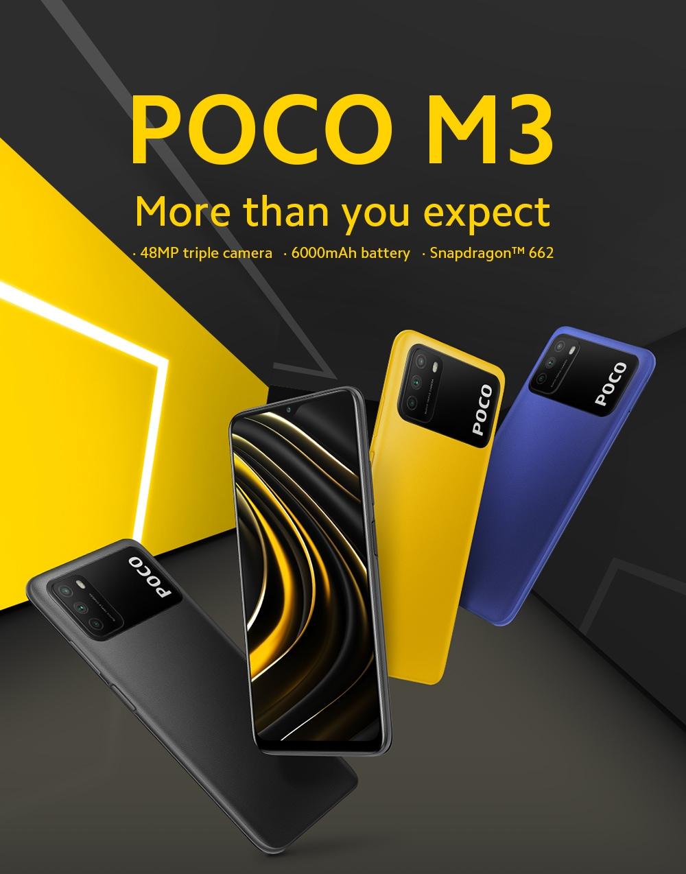 Xiaomi Poco M3 4G okostelefon