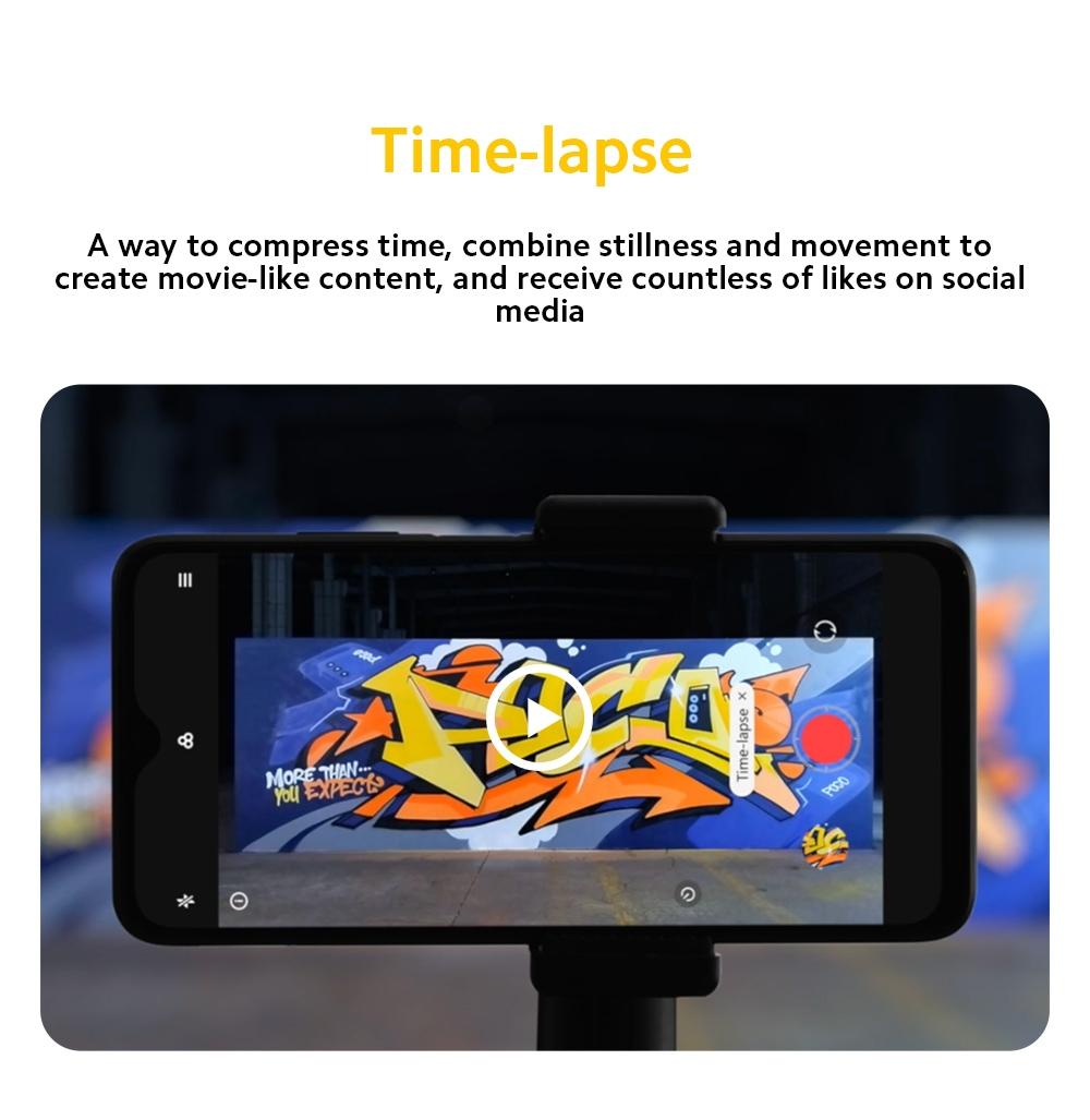 Xiaomi Poco M3 4G okostelefon időmérő