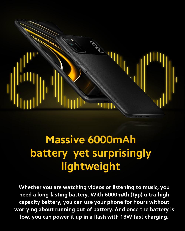 Xiaomi Poco M3 4G Smart Phone Battery