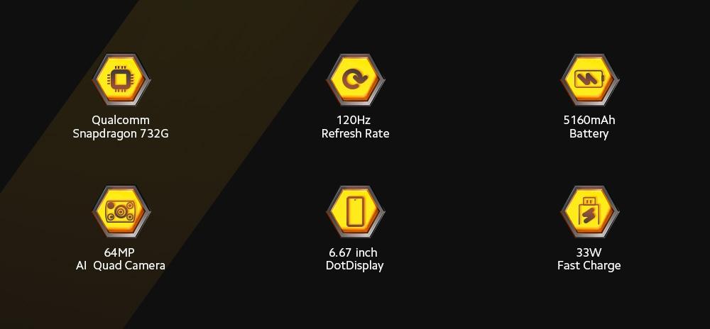 Xiaomi POCO X3 4G Smartphone Main Features