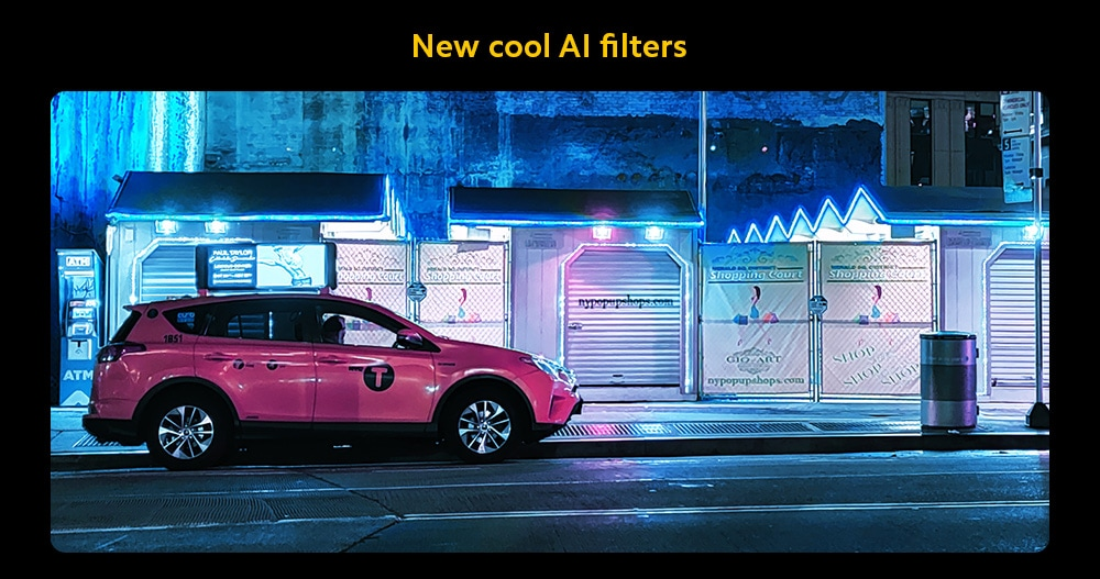 Xiaomi POCO X3 4G Smartphone AI Filters