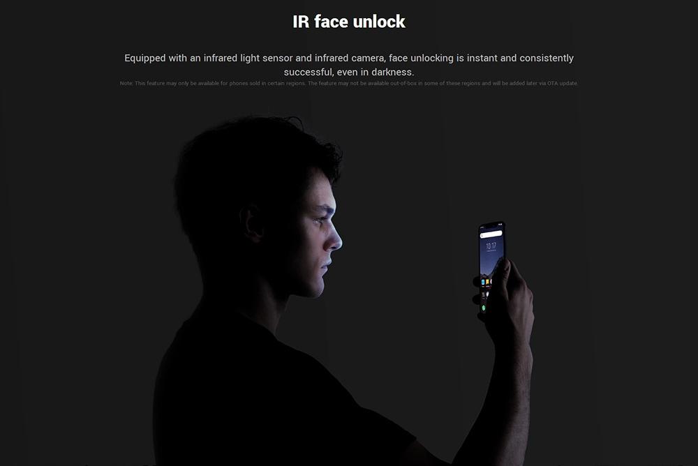 Xiaomi Pocophone F1 4G Phablet 6.18 inch Android 8.1 Snapdragon 845 Octa Core 2.8GHz 6GB RAM 128GB ROM 20.0MP Front Camera Fingerprint Sensor- Slate Blue 6+128GB