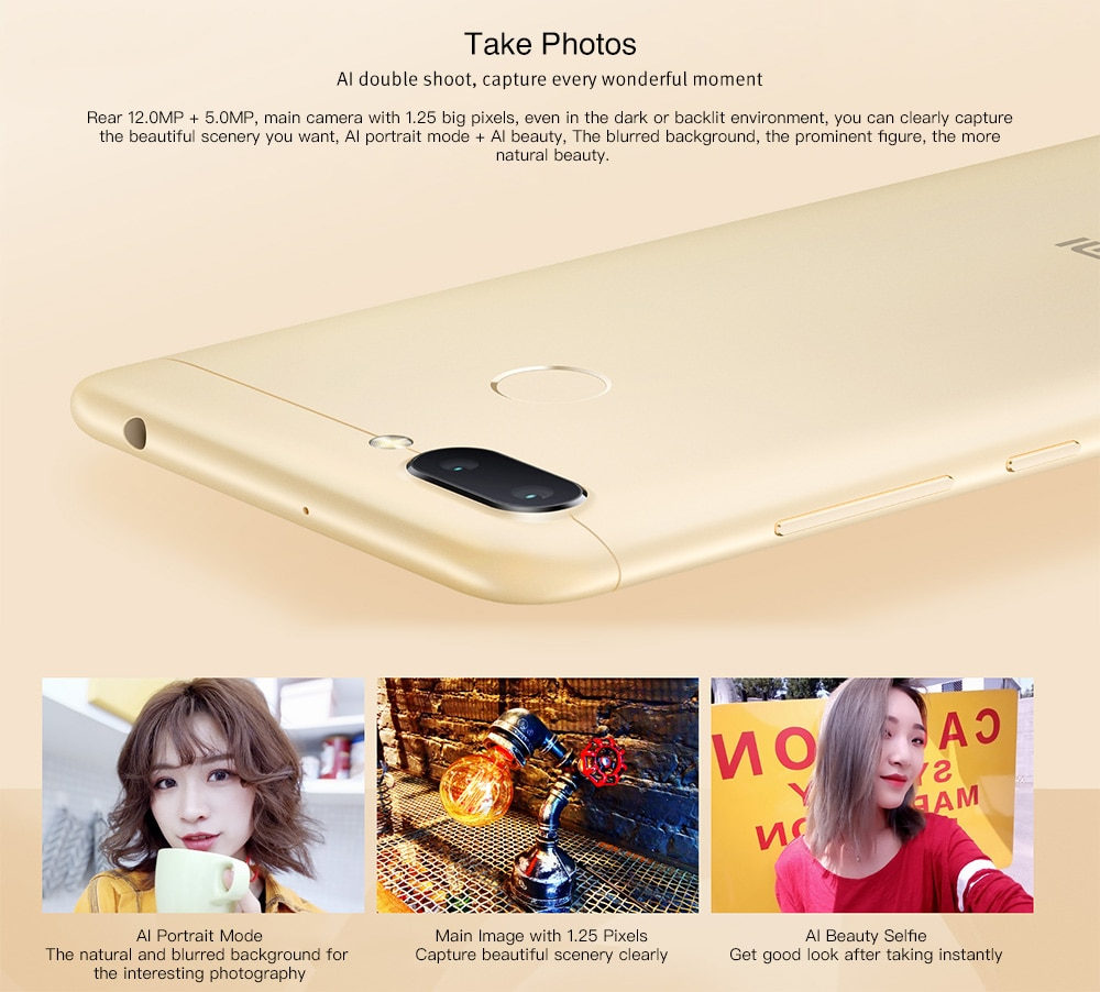 Xiaomi Redmi 6 4G okostelefon