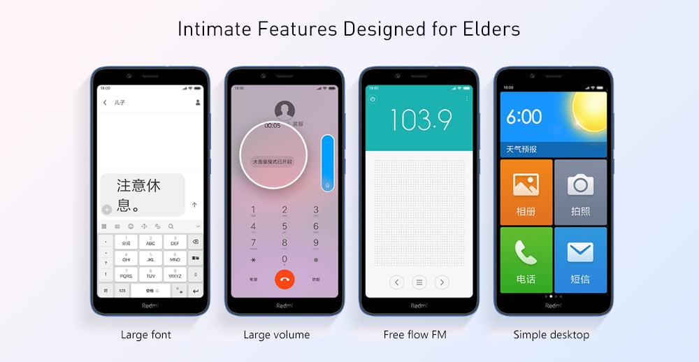 Xiaomi Redmi 7A 4G Smartphone 5.45 inch Android 9.0 Snapdragon SDM439 Octa Core 2GB RAM 32GB ROM 13MP Rear Camera 4000mAh Battery- Black