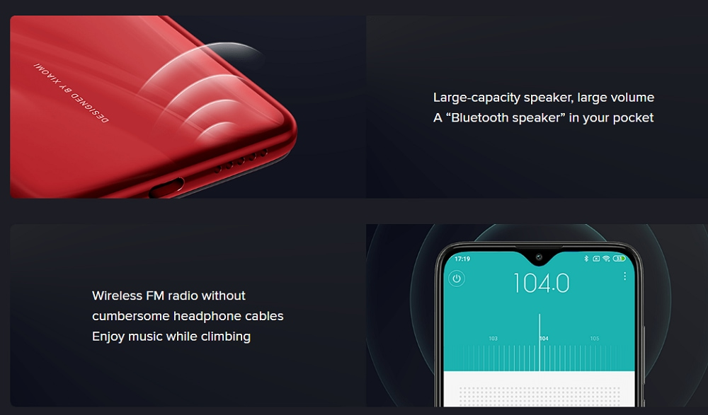 Xiaomi Redmi 8 4+64GB Ruby Red EU- Lava Red 4+64GB