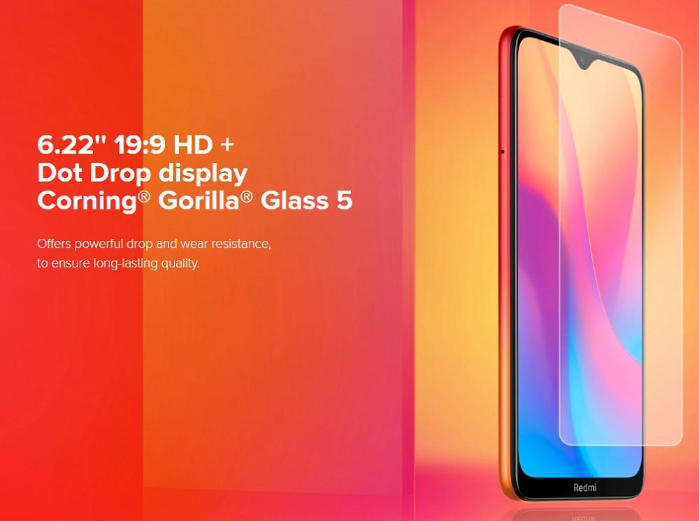 Xiaomi Redmi 8A 2+32GB Ocean Blue EU- Blue EU Plug
