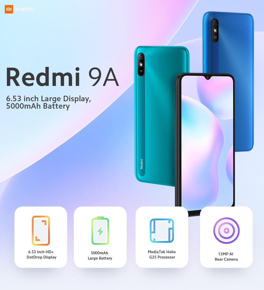 Xiaomi Redmi 9A 4G Smartphone