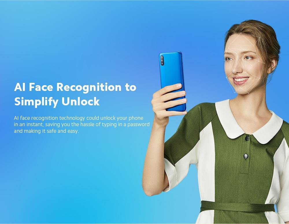 Xiaomi Redmi 9A 4G Smartphone AI Face Unlock