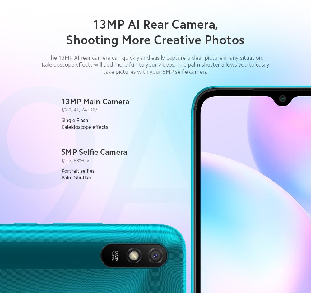 Xiaomi Redmi 9A 4G Smartphone Camera