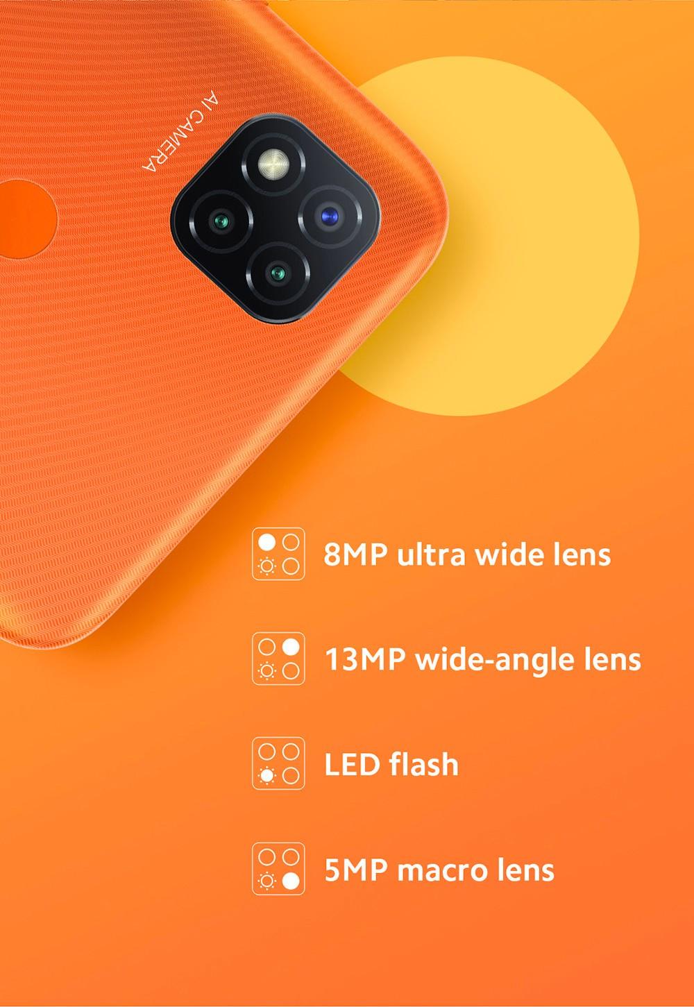 Xiaomi Redmi 9C 4G Smartphone AI Cameras