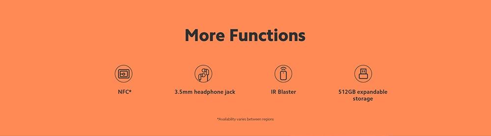 Xiaomi Redmi 9T 4G Smartphone Snapdragon 662 Octa-core 6.53 inch Rear Caremas 48MP + 8MP + 2MP + 2MP Battery 6000mAh Global Version - Gray 4+64GB More Functions