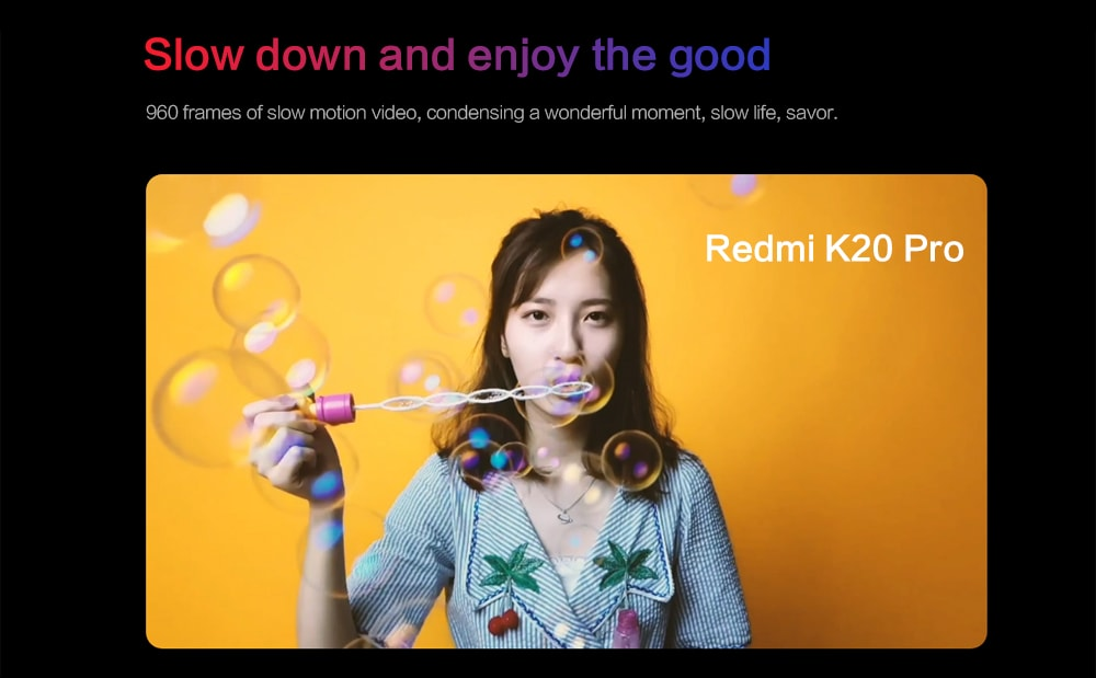Xiaomi Redmi K20 Pro 4G Phablet 6.39 inch MIUI 10 Snapdragon 855 Octa Core 2.84GHz 6GB RAM 128GB ROM 48.0MP + 13.0MP + 8.0MP Rear Camera 4000mAh Battery- Red