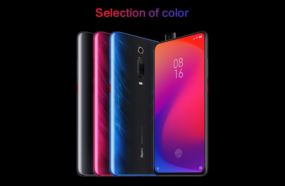 Xiaomi Redmi K20 Pro 4G Phablet 6.39 inch MIUI 10 Snapdragon 855 Octa Core 2.84GHz 6GB RAM 64GB ROM 48.0MP + 13.0MP + 8.0MP Rear Camera 4000mAh Battery- Blue