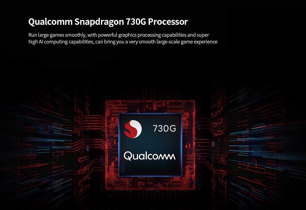 Xiaomi Redmi K30 4G Smartphone 6.67 inch MIUI 11 Snapdragon 730G- Blue 8GB+256GB