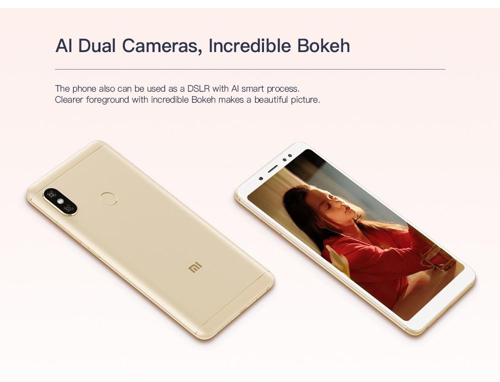 4GB RAM 64GB ROM Dual Rear Cameras Bluetooth 5.0 Fingerprint Recognition 4000mAh Battery- Gold