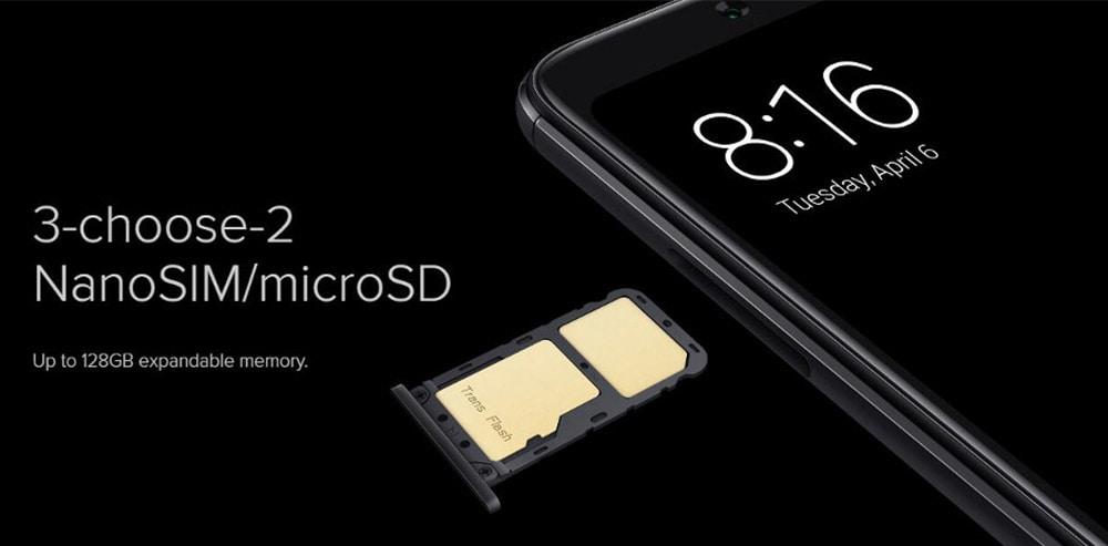 Xiaomi Redmi Note 5 4G okostelefon