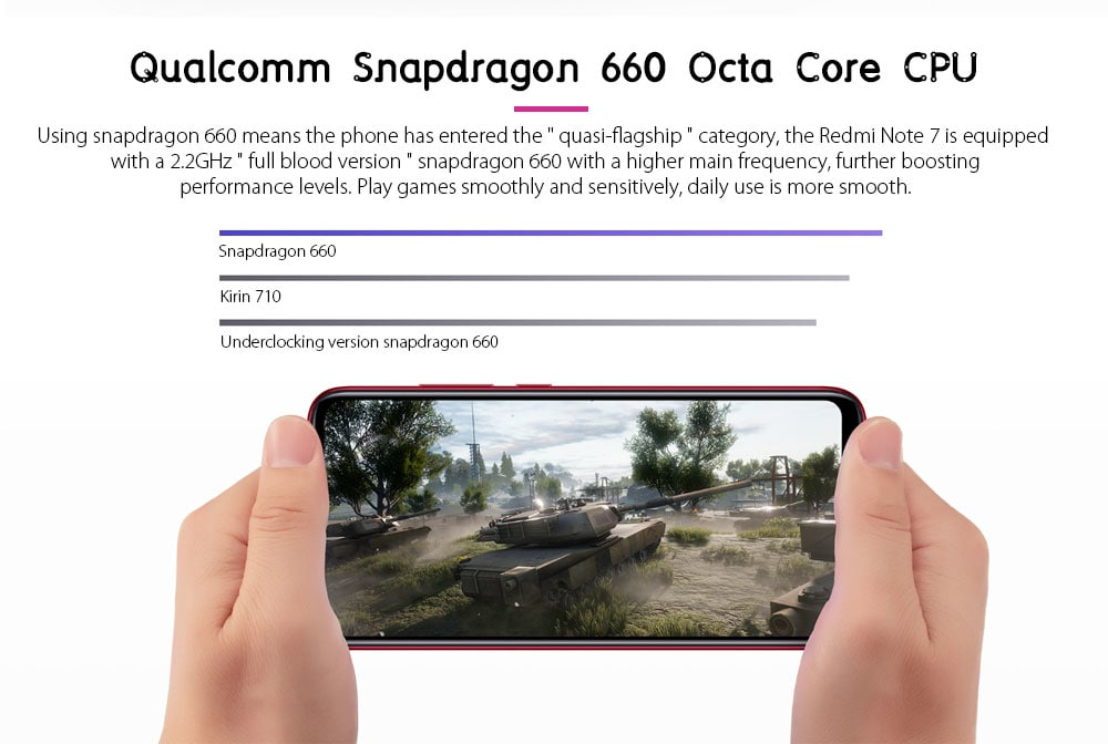 Xiaomi Redmi Note 7 4G Phablet 6.3 inch MIUI 10 ( Android 9.0 Pie ) Qualcomm Snapdragon 660 Octa Core 2.2GHz 4GB RAM 128GB ROM 48.0MP + 5.0MP Rear Camera Fingerprint Sensor 3900mAh Built-in- Black