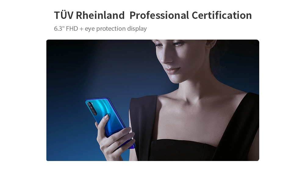 Xiaomi Redmi Note 8 4G Phablet 3GB RAM 32GB ROM- Blue