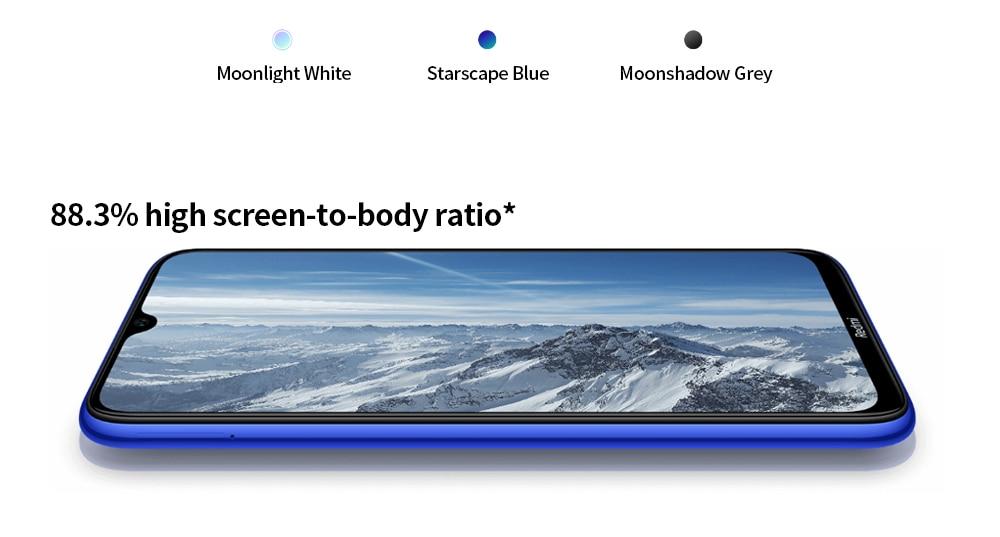 Xiaomi Redmi Note 8T 4G Phablet 4GB RAM 64GB ROM- Gray