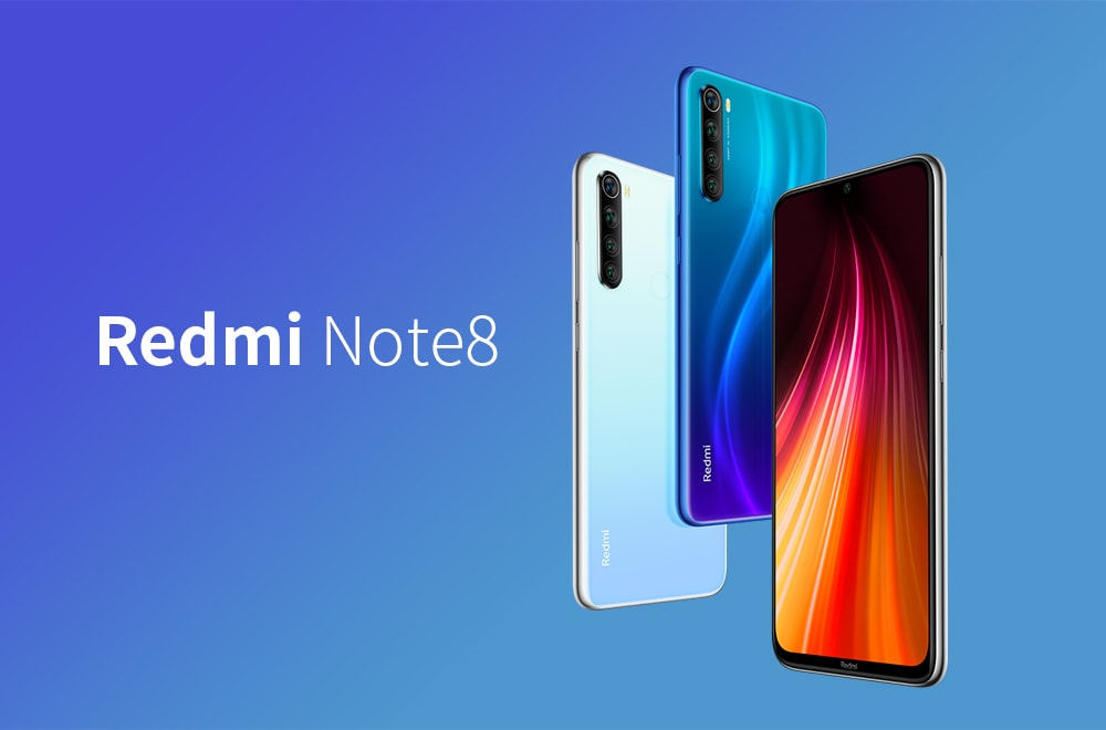 Xiaomi Redmi Note8 4G Phablet 6.3 inch MIUI 10 Qualcomm Snapdragon 665 Octa Core 2.0GHz 6GB RAM 128GB ROM 48.0MP + 8.0MP + 2.0MP + 2.0MP Rear Camera 4000mAh Battery- White