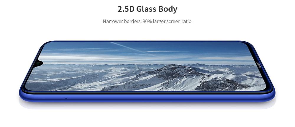 Xiaomi Redmi Note8 Global Version 4+64GB Neptune Blue EU- Blue 4+64GB