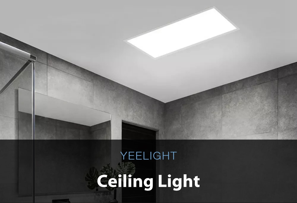 YEELIGHT YLMB05YL APP Control Dimmable Dustproof Design Smart LED Ceiling Panel Light ( Xiaomi Ecosystem Product )- White 30x30cm