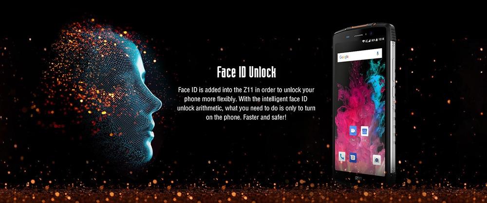 ZOJI Z11 4G Phablet 5.99 inch Android 8.1 MTK6750T Octa-core 1.5GHz 4GB RAM 64GB ROM 16.0MP + 2.0MP Rear Camera Fingerprint Sensor 10000mAh Built-in- Orange