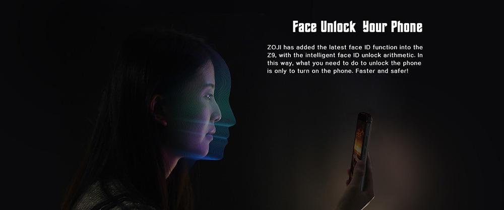 ZOJI Z9 4G okostelefon