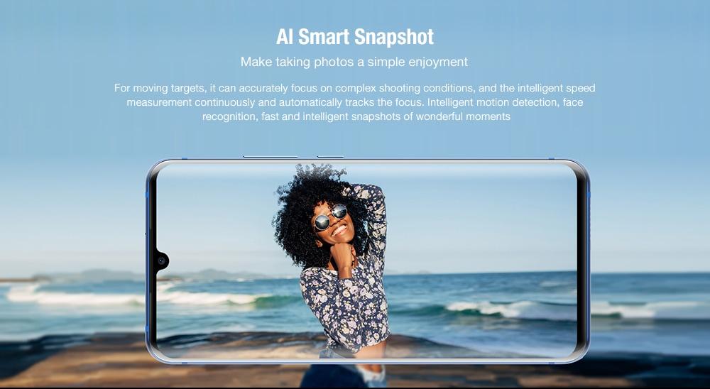 ZTE Axon 10 Pro 4G Smartphone 8GB RAM 256GB ROM- Blue
